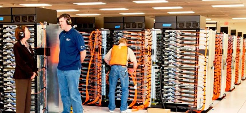 The Sequoia supercomputer