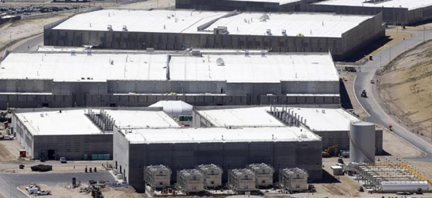 NSA's Utah Data Center is shown June 6, 2013, in Bluffdale, Utah.