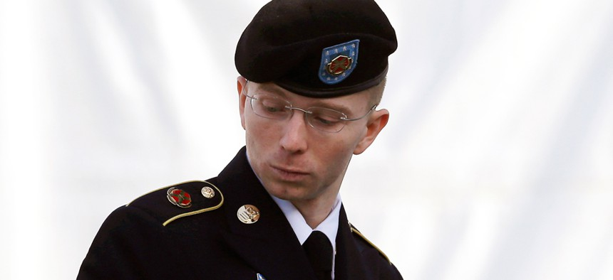Pfc. Bradley Manning allegedly downloaded classified files from military networks and leaked them to the anti-secrecy website WikiLeaks.
