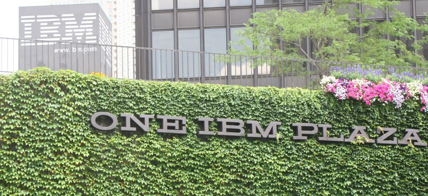 International Business Machine Corp. was one of the companies awarded contracts.