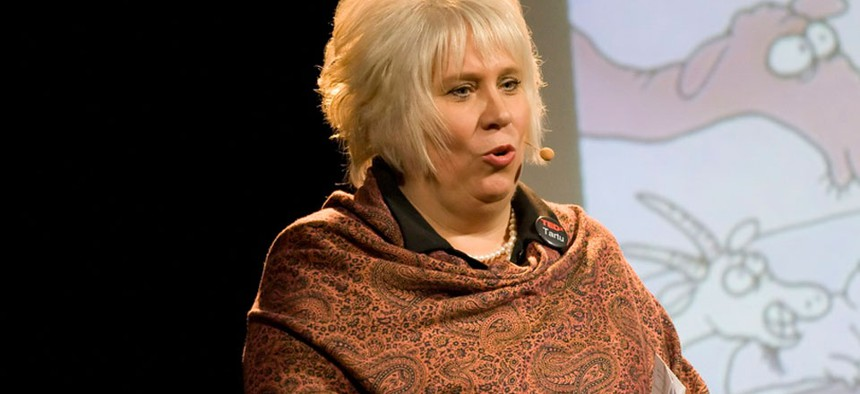 Estonian Ambassador Marina Kaljurand said a close parallel to her nation's cyber reserve is the new Maryland program.
