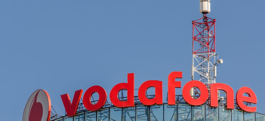 A Vodafone server was hacked.