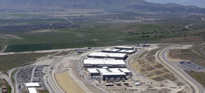 NSA's Utah Data Center, shown in June, occupies 200 acres in Utah.