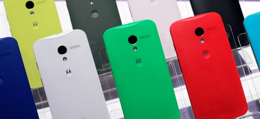 Motorola Moto X smartphones, using Google's Android software