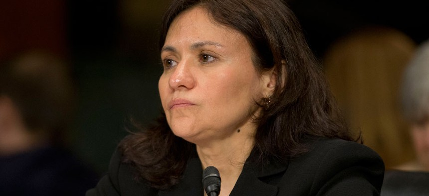 """""""It's been a catalyst for very healthy debate for privacy generally,"""" Edith Ramirez said."""