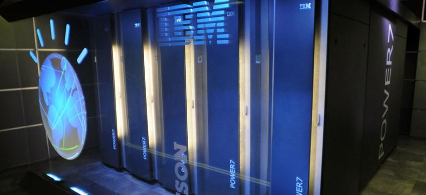 """IBM's """"Watson"""" computer in Yorktown Heights, N.Y."""