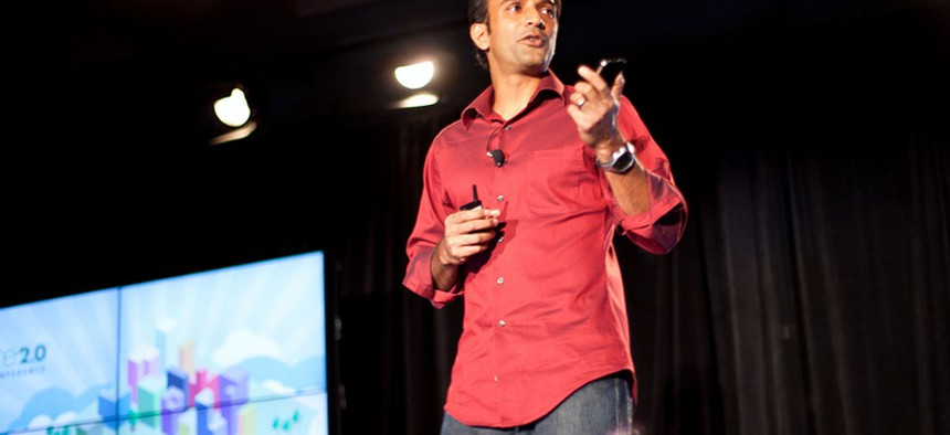 DJ Patil, formerly of Salesforce subsidiary RelateIQ and LinkedIn.