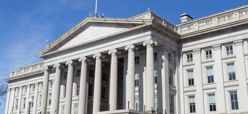 U.S. Treasury Department headquarters in Washington, D.C.