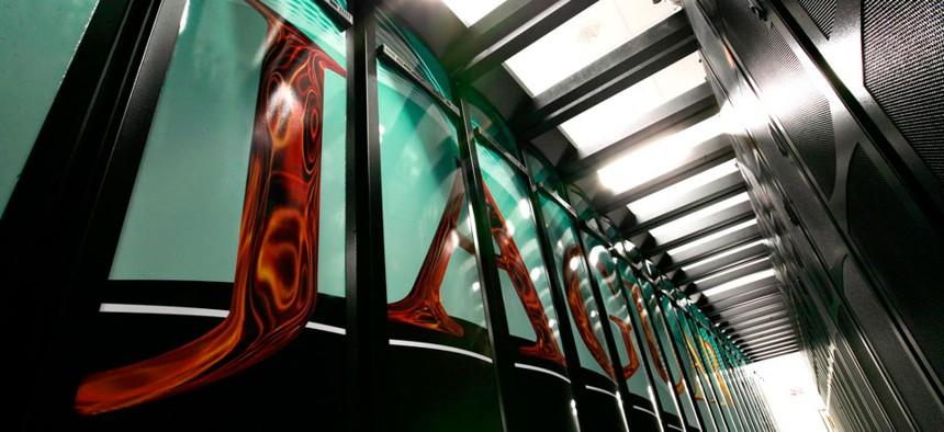 The Jaguar supercomputer at a Department of Energy lab in Oak Ridge, Tenn.