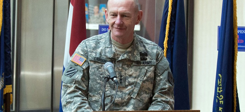 Lt. Gen. Edward Cardon, commanding general of the Army Cyber Command.