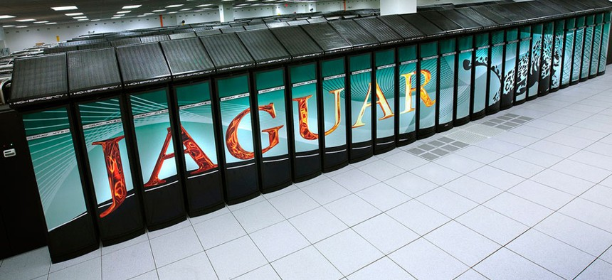 The Energy Department's Jaguar Supercomputer