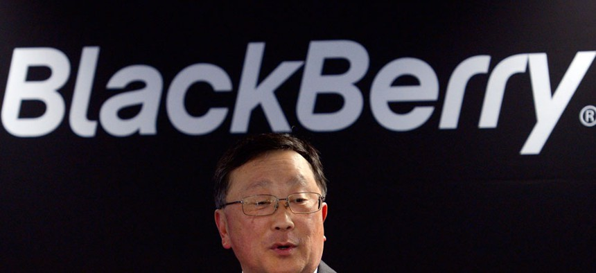 Blackberry's Executive Chairman and CEO John Chen