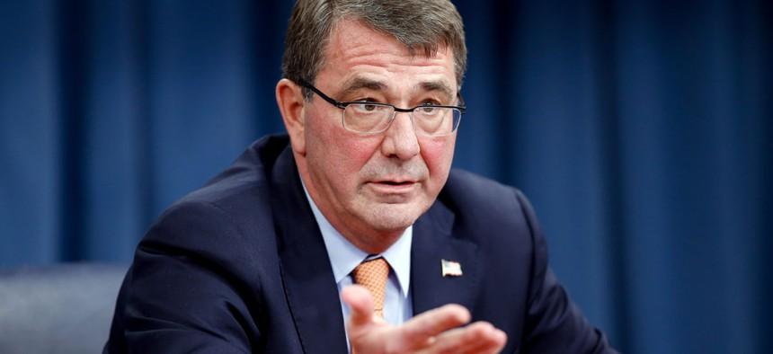 Defense Secretary Ash Carter