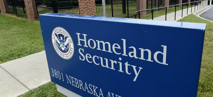 The Homeland Security Department headquarters in northwest Washington, Friday, June 5, 2015. China-based hackers are suspected once again of breaking into U.S. government computer networks, and the entire federal workforce could be at risk this time. The