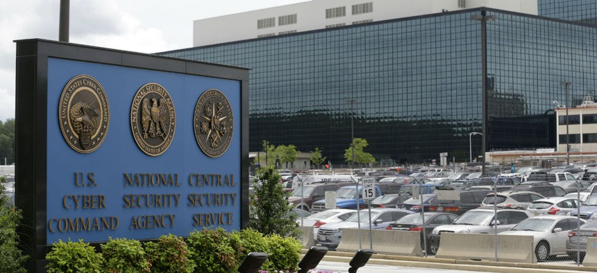FILE - This Thursday, June 6, 2013 file photo shows the National Security Administration (NSA) campus in Fort Meade, Md.