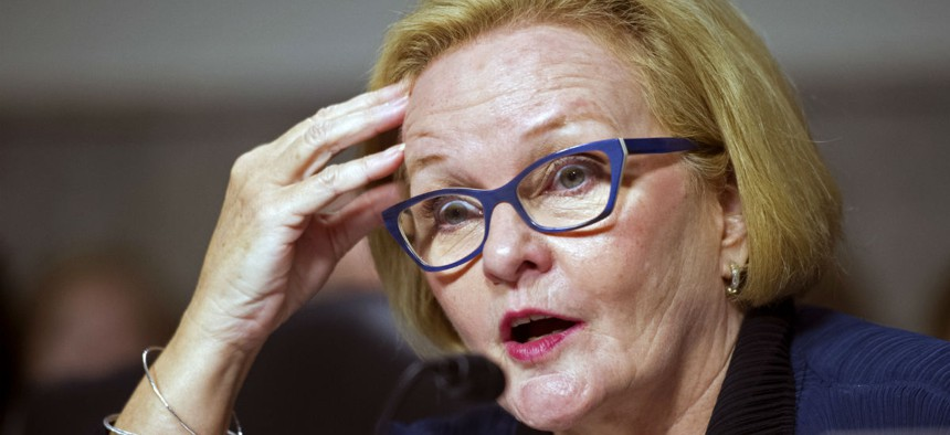 Sen. Claire McCaskill, D-Mo, has asked OPM to describe its contingency plans for critical technology upgrades.
