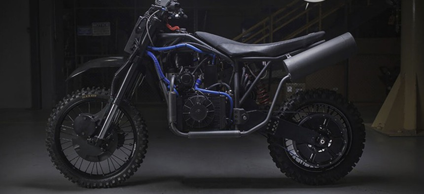 The Nightmare Stealth Bike from LSA Autonomy