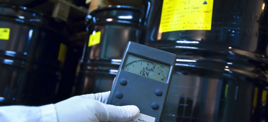 A traditional Geiger Counter