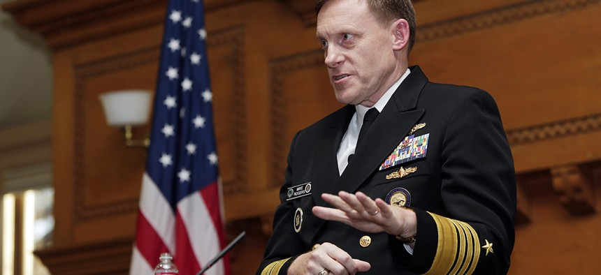 National Security Agency director, Admiral Mike Rogers