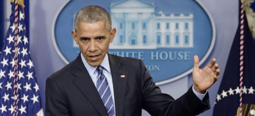 President Barack Obama during a press conference Dec. 16.