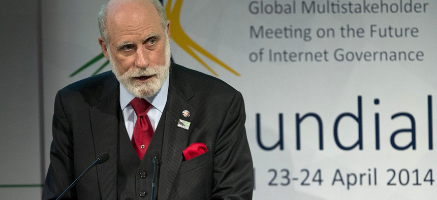 Computer scientist Vint Cerf