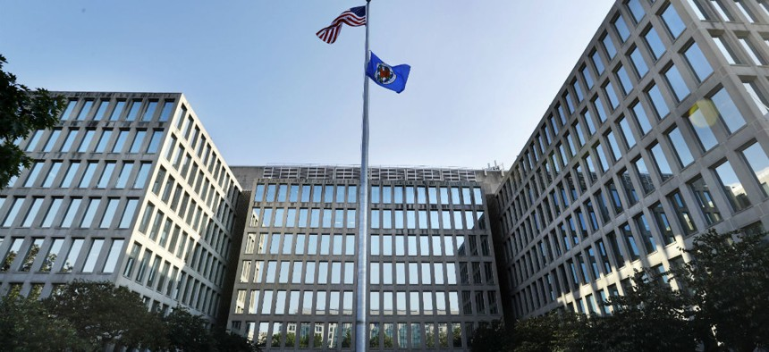 The U.S. Office of Personnel Management is photographed Tuesday, Sept. 6, 2016, in Washington.