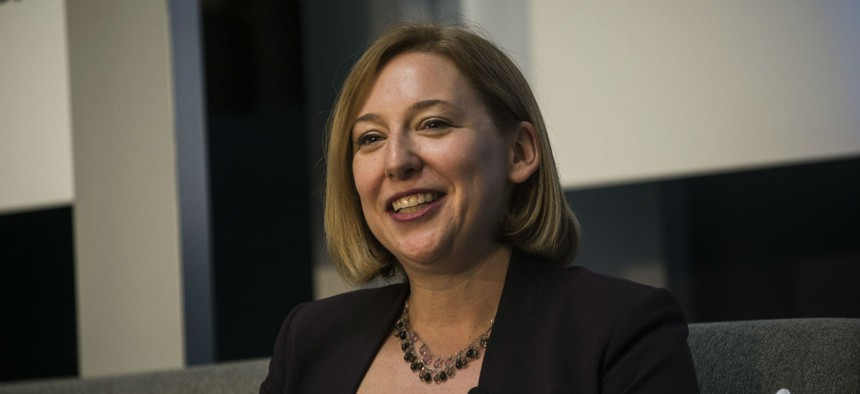 Jeanette Manfra, assistant secretary for Homeland Security's Cybersecurity and Communications Office.