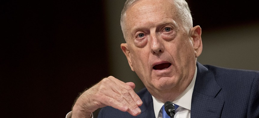 Defense Secretary Jim Mattis