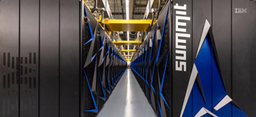 The IBM-built Summit supercomputer