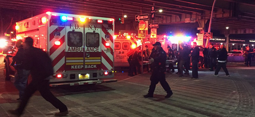 First responders in New York City