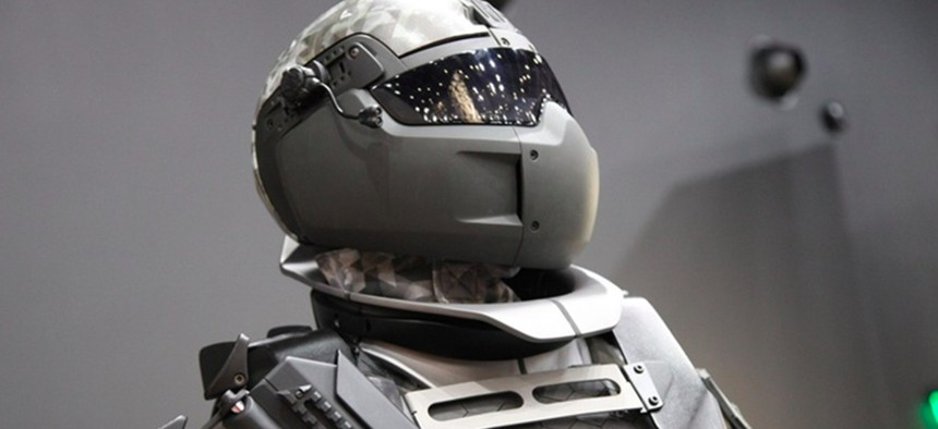 The Ratnik-3 exoskeleton