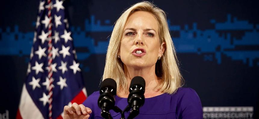 Secretary of Homeland Security Kirstjen Nielsen