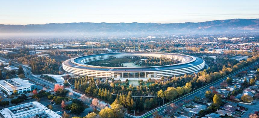 Apple Headquarters in Cupertino, Calif.
