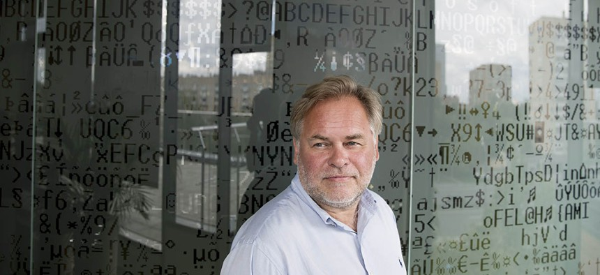 Eugene Kaspersky, ussian antivirus programs developer and chief executive of Russia's Kaspersky Lab.