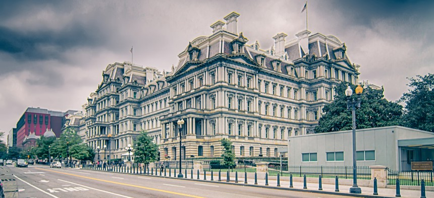 The Eisenhower Executive Office Building in Washington, D.C.