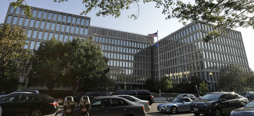 The Office of Personnel Management in Washington, D.C.
