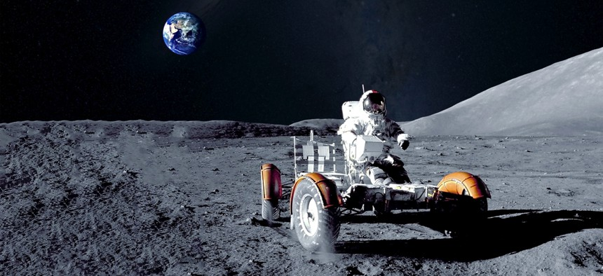 NASA Solicits Ideas on its Future Moon Rovers - Nextgov