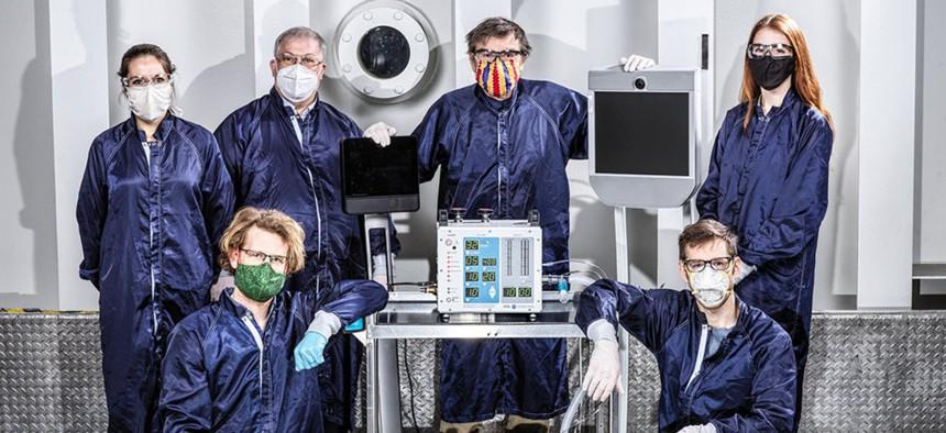 NASA JPL engineers involved in creating VITAL, a ventilator prototype specially targeted to coronavirus disease patients.