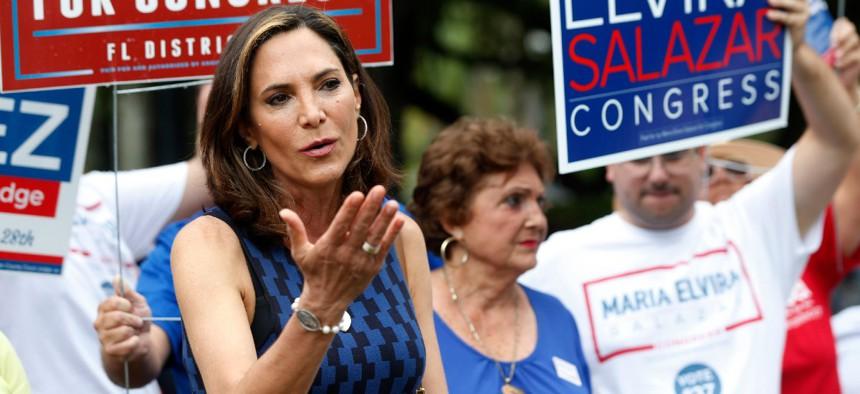Maria Elvira Salazarbeat incumbent Rep. Donna Shalala for a House seat in Florida.