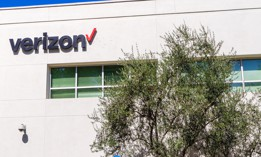 Oct 9, 2018 San Jose / CA / USA - Verizon headquarters in Silicon Valley; Verizon Communications Inc is an American multinational telecommunications conglomerate