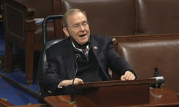 In this image from video, Rep. James Langevin, D-R.I., speaks on the floor of the House of Representatives at the U.S. Capitol in Washington, Thursday, April 23, 2020