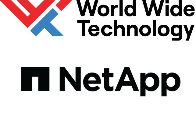 WWT|NetApp's logo