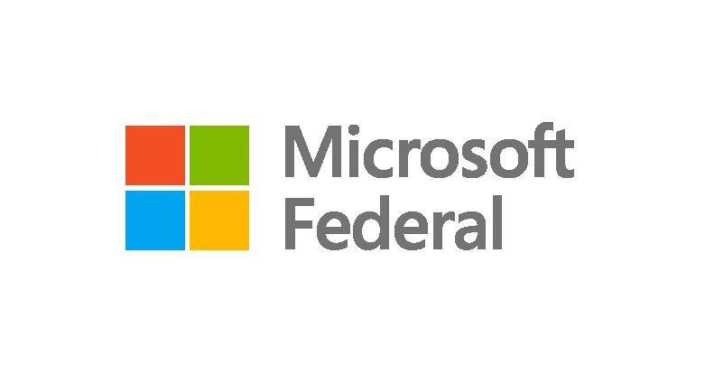 Microsoft Federal's logo