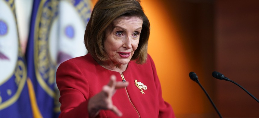 House Speaker Nancy Pelosi, D-Calif., said the House will pass the measure this week to avoid an unnecessary shutdown.
