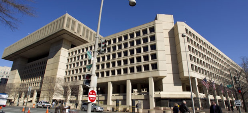 The Federal Bureau of Investigation  headquarters in Washington.