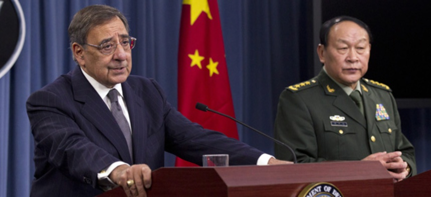 China's Minister of National Defense Gen. Liang Guanglie and Defense Secretary Leon Panetta appeared together last week in Washington.