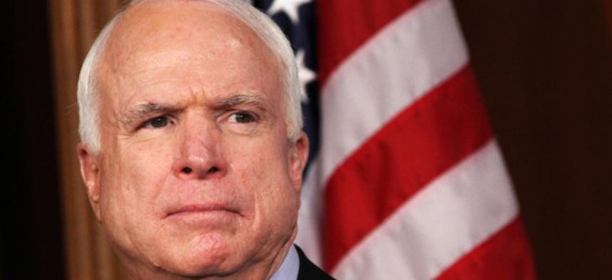 Sen. John McCain, R-Ariz