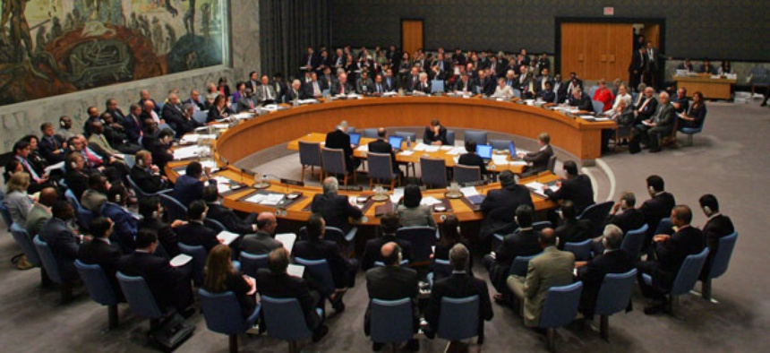 The Security Council in 2006.