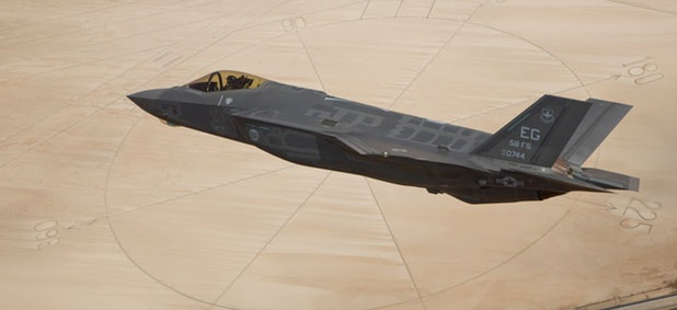The F-35A Lightning II