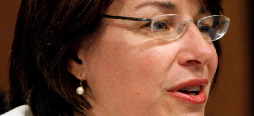 Sen. Amy Klobuchar, D-Minn.